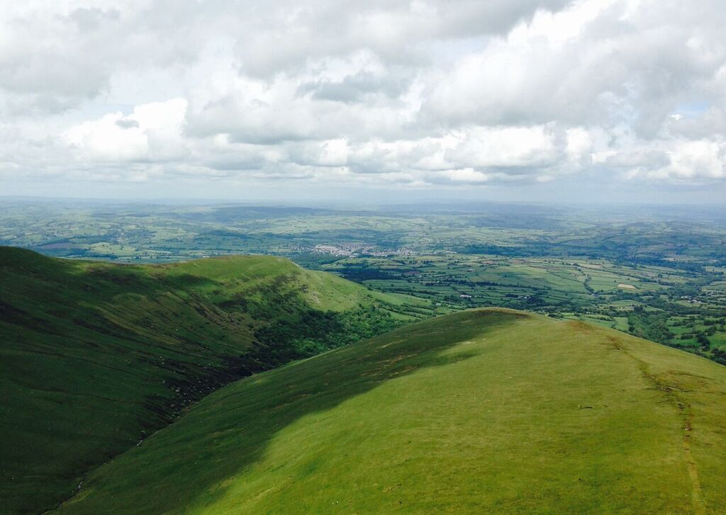 This to me is a landscape (and a particularly nice one, in the Brecon Beacons, Wales). Is our evolving definition of the word 'landscape' heading in the direction of significant problems? Photo: Janna Schreier