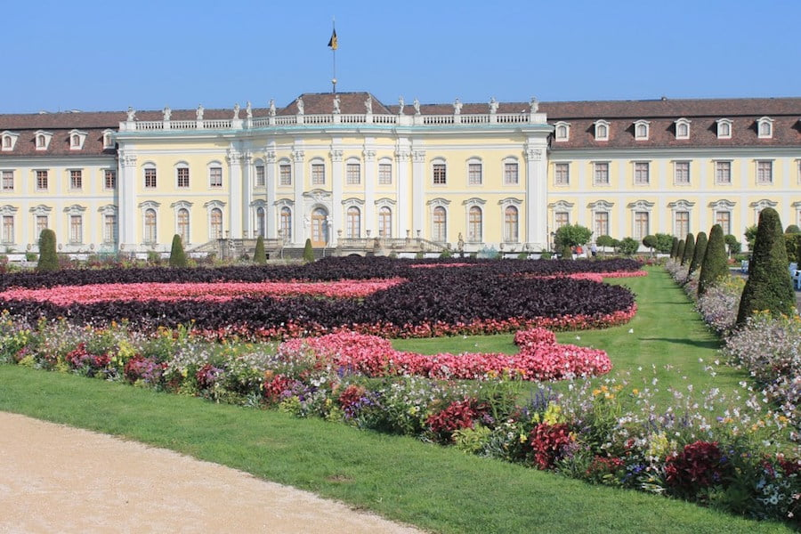 Gardens at Ludwigsburg Castle