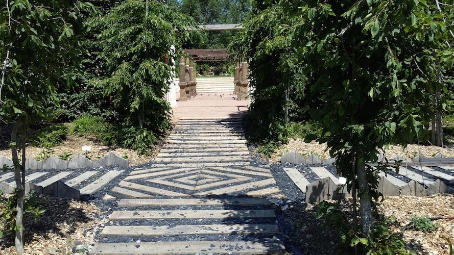 The Roman Garden, Jardin du Bois du Puits