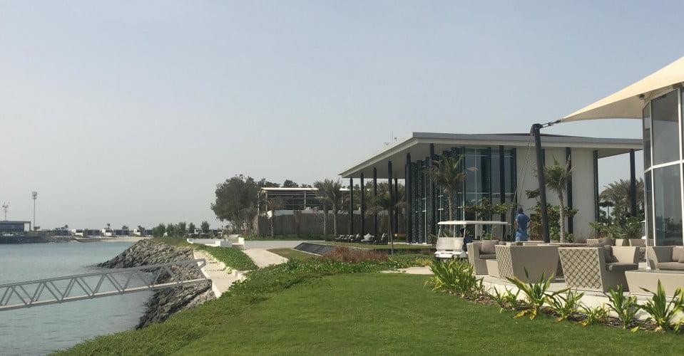 BEFORE: Nurai Island reception area