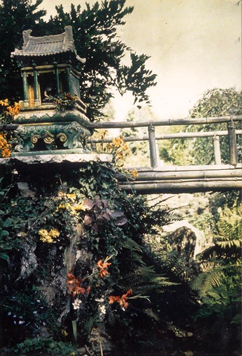 Japanese garden at La Villa des Iris c1932