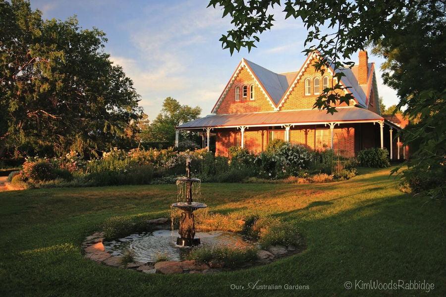 The garden at Devon House in 'Celebrate the Seasons', pp200-201 Photo Kim Woods Rabbidge