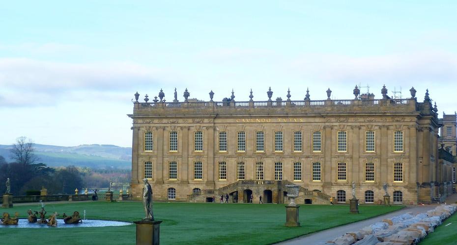 The grandeur of Chatsworth. Photo Jill Sinclair