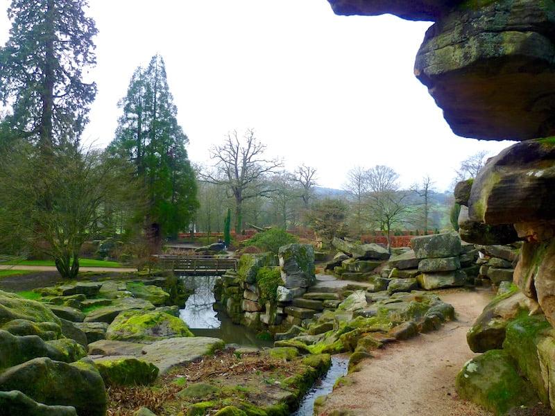 Rockery at Chatsworth Photo Jill Sinclair