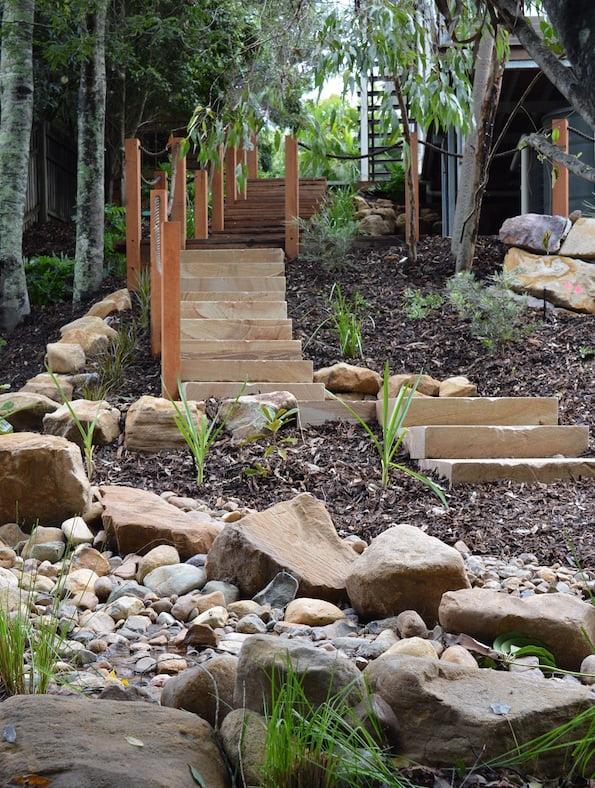 beautiful bushland garden design megan roe landscape design brisbane