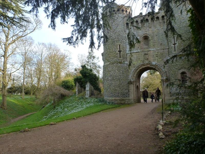 Benington Lordship castle entrance