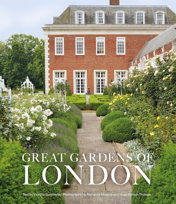 Great Gardens of London book cover