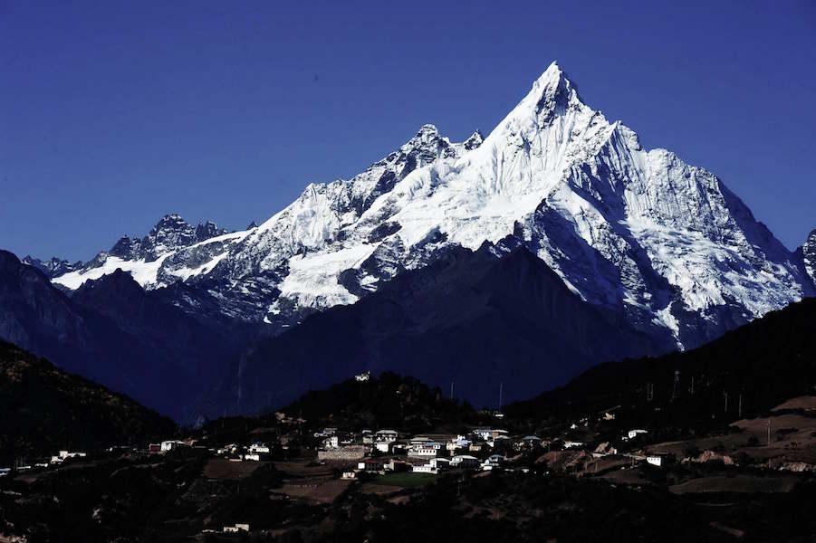 Meili Snow Mountain at Deqin