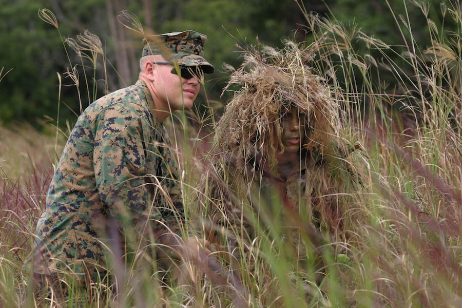 Silent Scope: Stalking: Sniper students learn the finer points of hide and seek