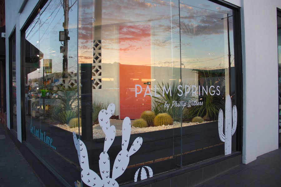Palm Springs by Phillip Withers at The Family Love Tree, Prahran