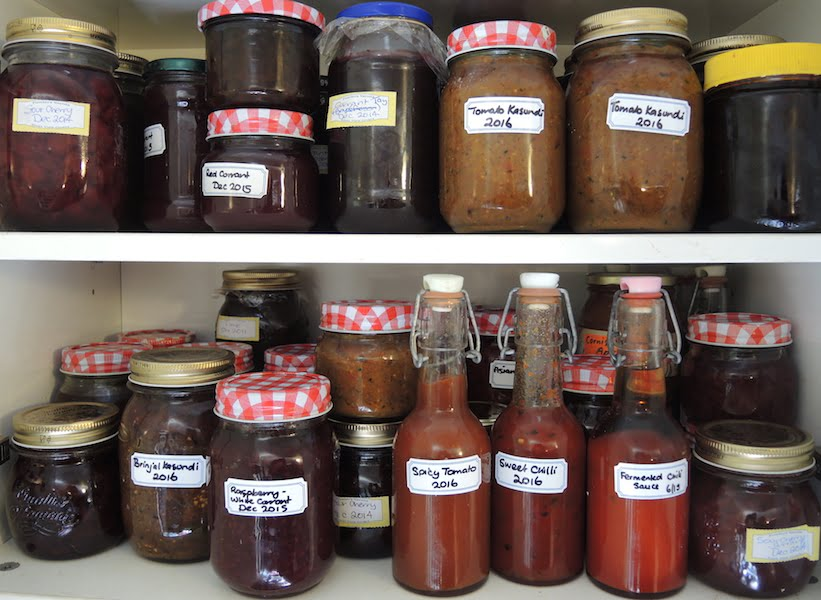 Preserving your garden harvest - all it takes is heat, salt, sugar and/or vinegar