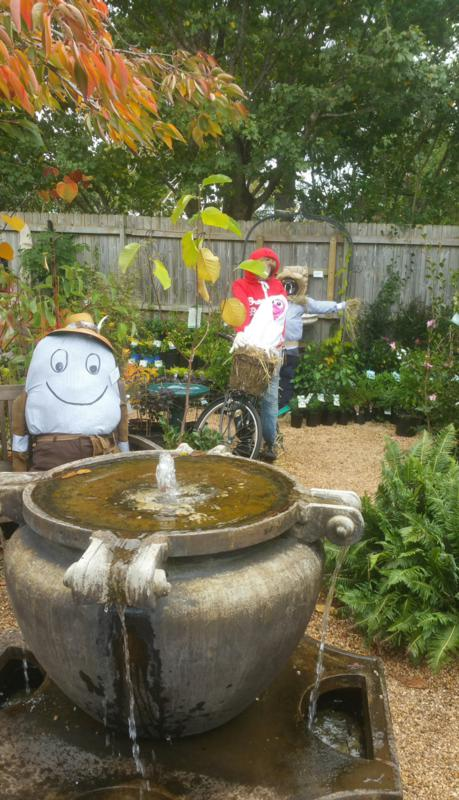Scarecrow Competition at Birches of Leura Nursery