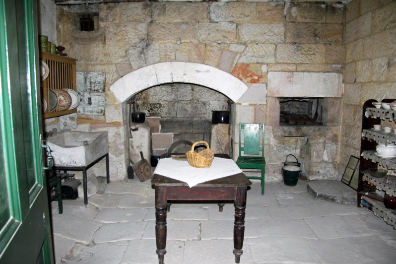 The old kitchen at Woodford Academy, the oldest building in the Blue Mountains