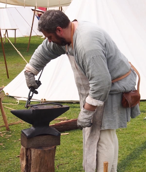 Blacksmith St Ives Medieval Fair