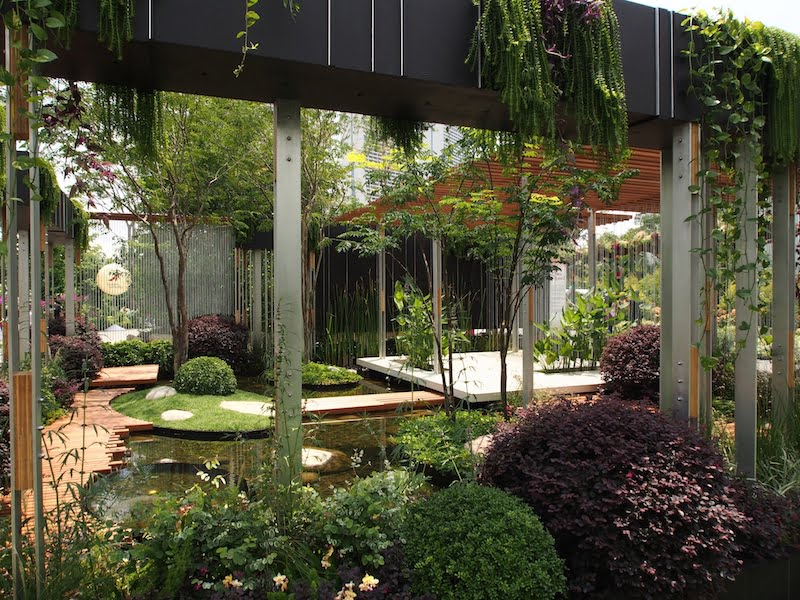 Brendan Moar design Singapore Garden Festival 2014. Photo Catherine Stewart
