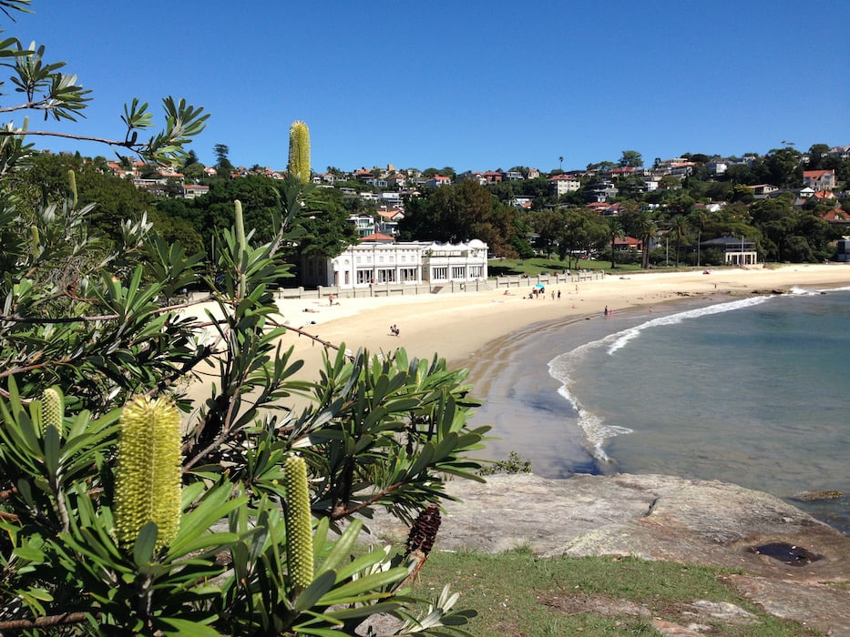 The scenic Balmoral Beach, Mosman. Photo Janna Schreier
