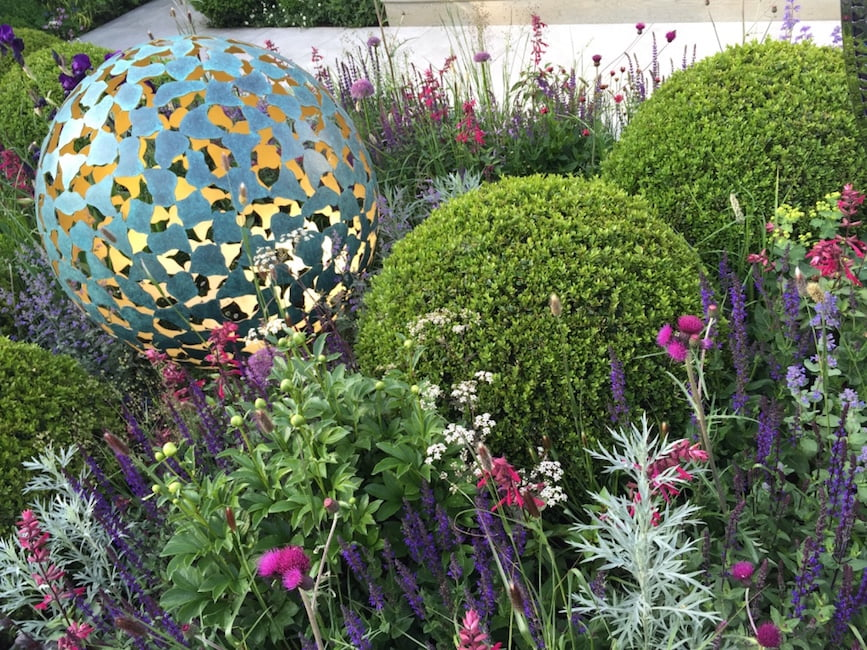 'The Mantel' by David Harber. Chelsea Flower Show 2016
