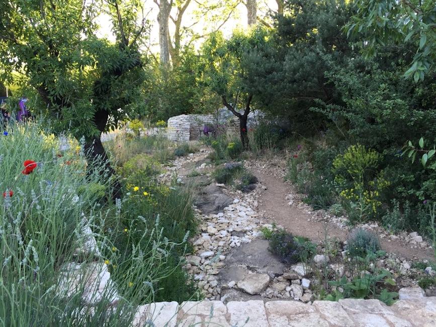 L'Occitane Garden designed by James Basson awarded a gold medal. Chelsea Flower Show 2016