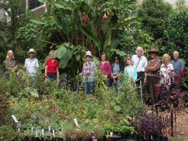 APS group visiting the nursery