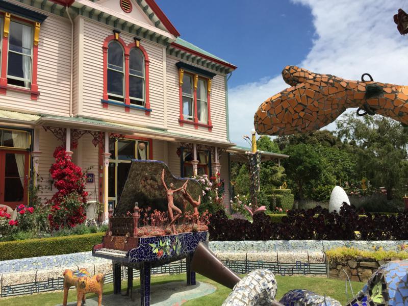 Giant's Garden at Akaroa, South Island of New Zealand