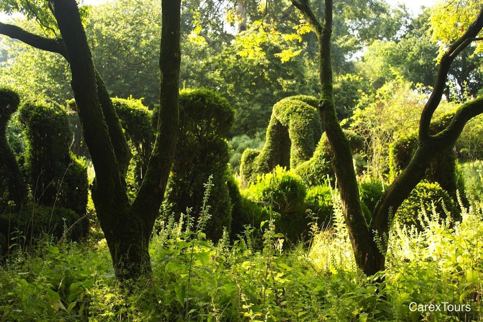 Henk Gerritson made this topiary as an expression of wild modernism.