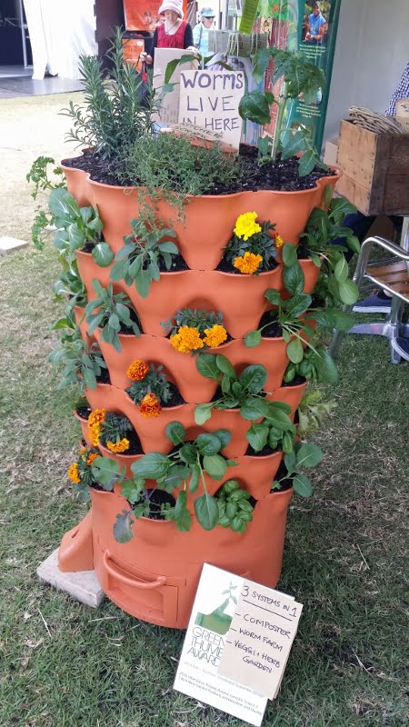 3 in 1 garden tower planter