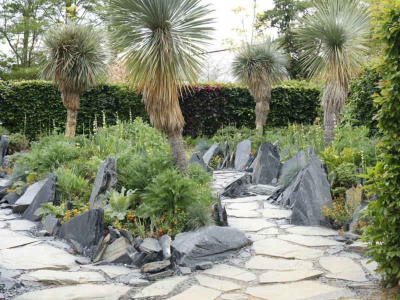 """""""Le jardin des émergences"""". Photo courtesy of Domaine de Chaumont-sur-Loire"""