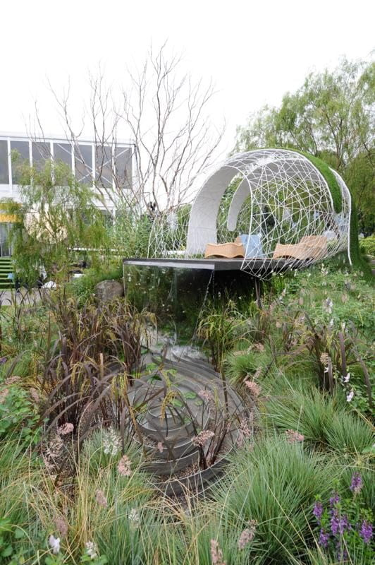 Landscape Gardens, Leon Kluge and Bayley LuuTomes awarded Gold and Best Outdoor Lighting. Photo courtesy Singapore Garden Festival