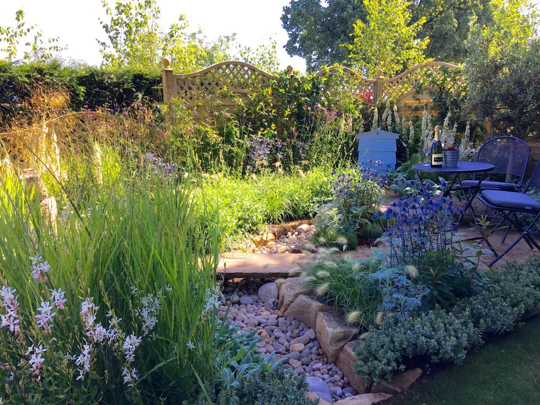 Best City Garden: The Drought Garden by Steve Dimmock uses many Mediterranean plants in a garden designed with global warming in mind. Photo by Janna Schreier