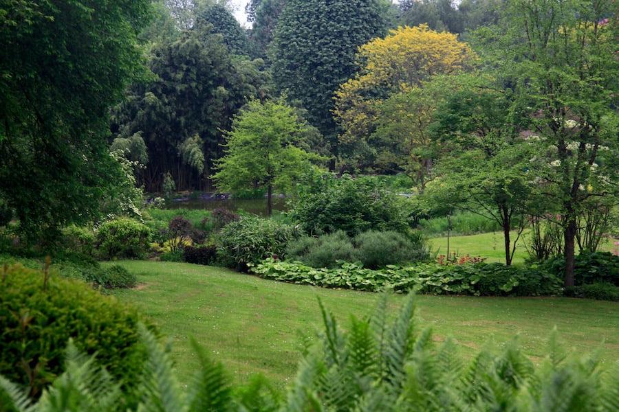 1. Woodland gardens and informal terracing in Les Jardins en Le Pays d'Auge.jpg