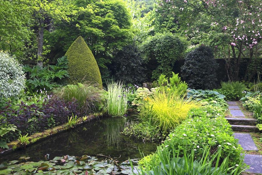 11. The long pond in Jardins de Castillion