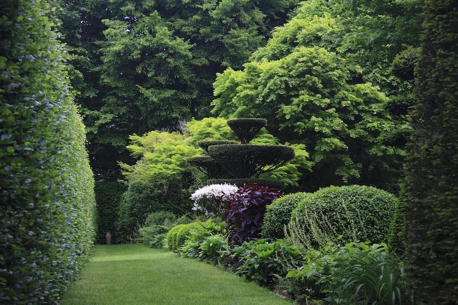 The beautiful Jardins de Castillion