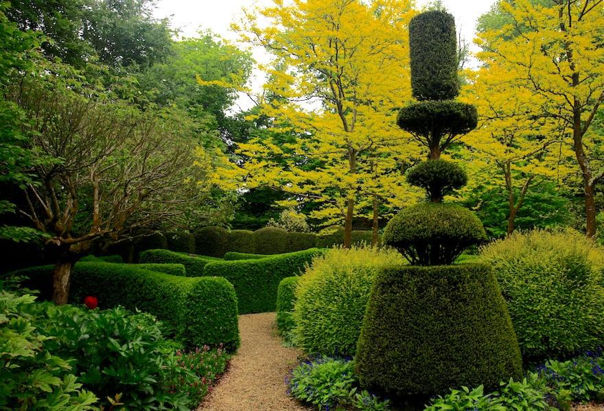 9. Elegance and whimsy in Jardin de Castillon