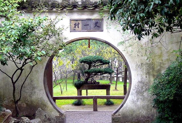 Lingering garden, Suzhou. Photo Gisling WikimediaCC