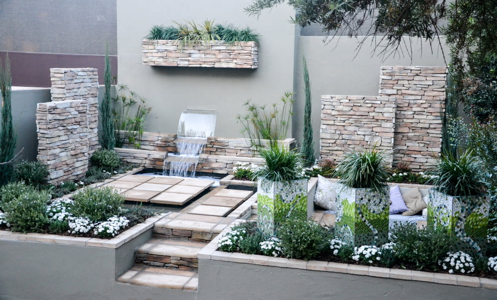 Easy Living design Pieter Goussard Garden World 2016