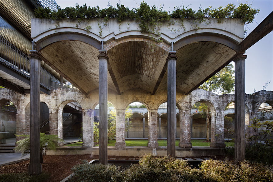 Paddington Reservoir Gardens, Paddington. Architects Tonkin Zulaikh & Greer; Landscaping Anton James; Photographer Jason Busch