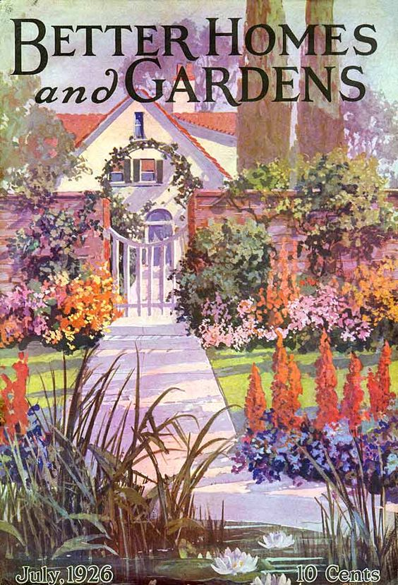USA Better Homes and Gardens 1926