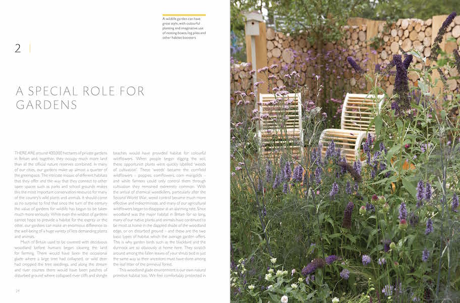 RHS Companion to Wildlife Gardening p24-5