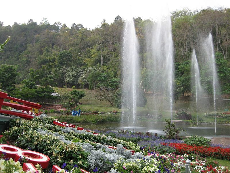 Queen Sirikit Botanical Garden, Thailand. Photo Gardenology.org