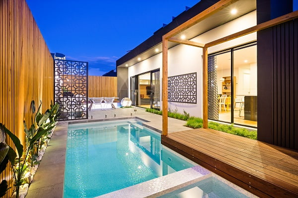 Residential Landscape Construction under 50k - Bayon Gardens, Camberwell Project