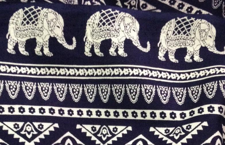 Thai elephant print