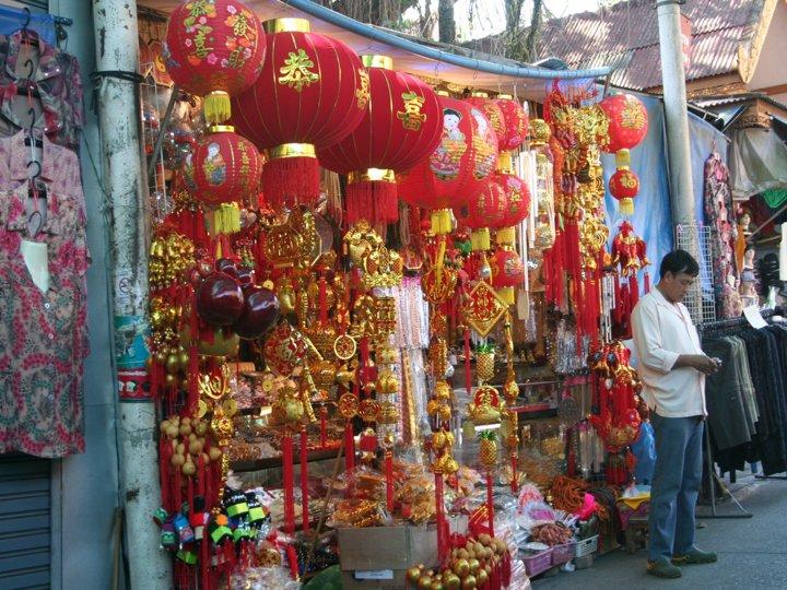 Thailand street stall