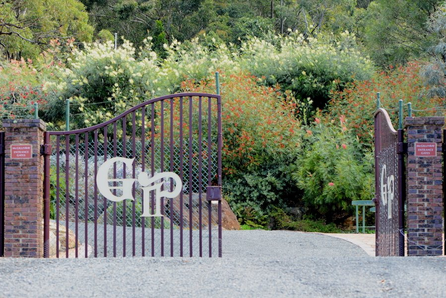 The entrance to Illawarra Grevillea Park