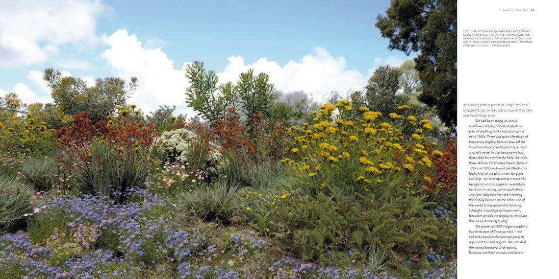 Influential Australian Garden People by Anne Vale - design by 'garden creator' Grady Brand. Photo David Blumer