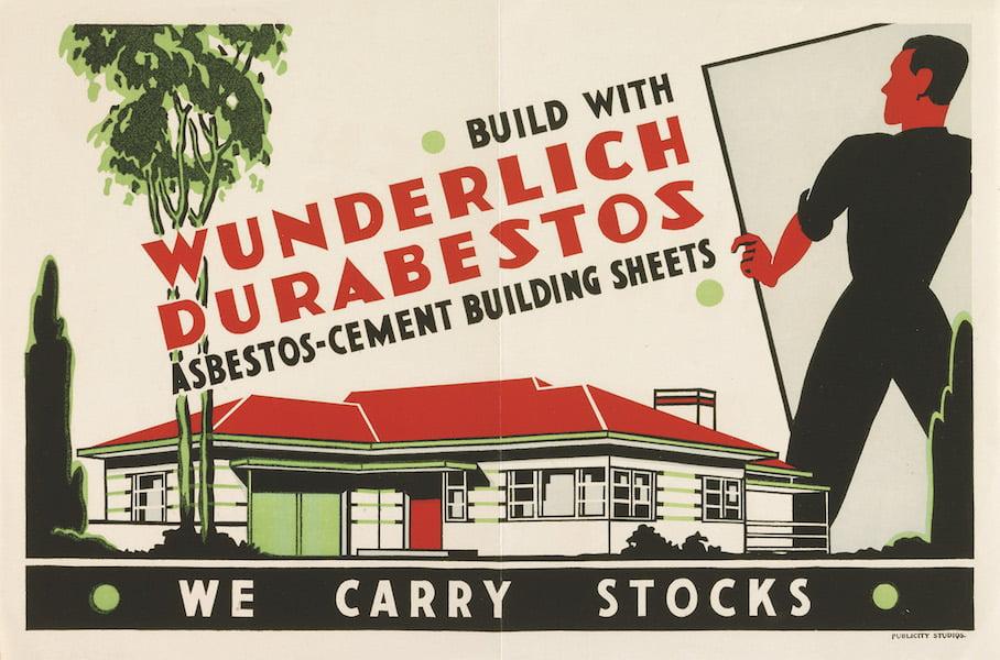 Poster of Wunderlich Durabestos in 'Planting Dreams - Shaping the Australian Garden'