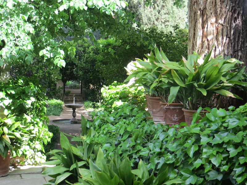 Cigarral Menores Garden-private home of Maria Maranon - image by John Patrick